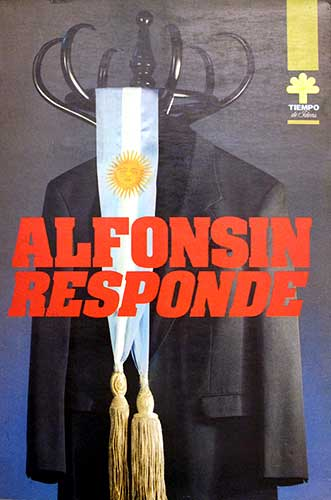 Alfonsín responde