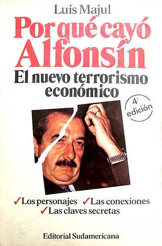 Por qué cayó Alfonsín