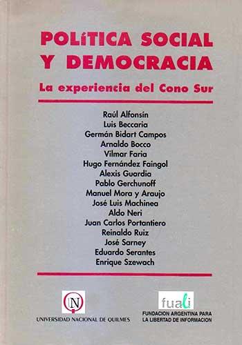 Política social y democracia